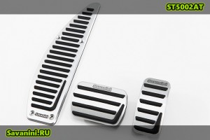 Накладки на педали Volvo C30, S40, V40, C70 (автомат)