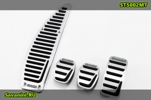 Накладки на педали Volvo C30, S40, V40, C70 (механика)