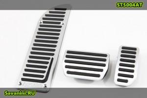 Накладки на педали Volvo S60, V60, S80, XC60, XC70 (автомат)