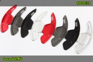Подрулевые лепестки Audi A3, А4, А5, А6, А7, A8, Q5, Q7 (тип 1)